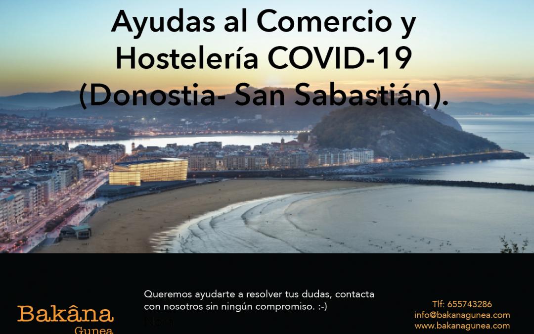 Ayudas al Comercio y Hostelería COVID-19 (Donostia- San Sabastián)